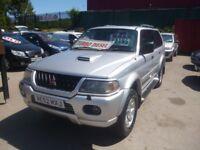 Mitsubishi SHOGUN SPORT Equippe TD,2477 cc 4x4,full leather interior,tow bar fitted,drives as new