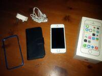 Apple Iphone 5s silver 16gb Vodafone