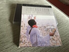 Jimi Hendrix live at Woodstock 2 DVD collection