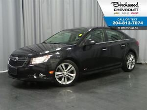 2013 Chevrolet Cruze LTZ Turbo RS PACKAGE   LEATHER   SUNROOF
