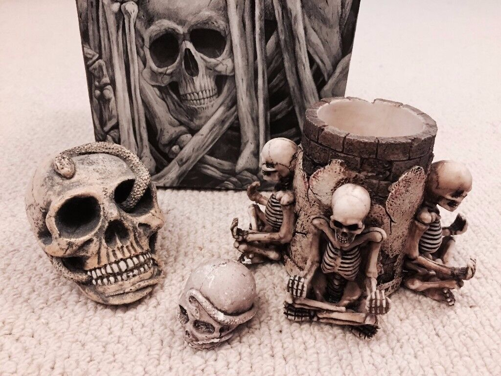 The Skull Collection Ornaments
