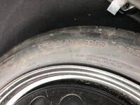 Used Volvo spacesaver wheel