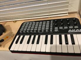 Akai pro APC 25 portable ableton keyboard