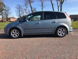 2008 FORD C-MAX ZETEC*MPV*LOW TAX*FINANCE & WARRANTY zafira,c8,galaxy,sharan,picasso