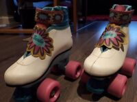 Barbie Roller Boots - kids size 11 VGC