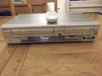 Funai DRV-B2737 6-head VHS video recorder/DVD player