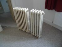 Victoria wrought iron radiators