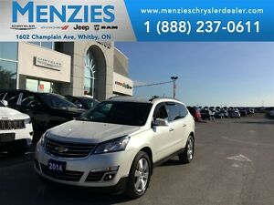 2014 Chevrolet Traverse LTZ, Bluetooth, Navi, Backup Cam, Clean