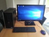"""Gaming PC + Monitor 27"""" i5 / 8gb RAM / 1.4 GB HD / GTX 650 TI 2GB"""