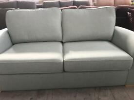 DFS Beau 2 seater fabric sofa in mint