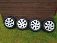 """Vauxhall corsa alloy wheels 15"""""""