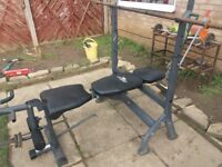 Weightlifting 3 in 1 bench