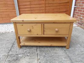 Pine coffee table.