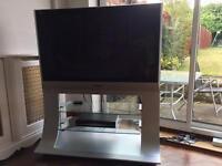"Panasonic Viera 40"" Flatscreen TV with integrated stand"