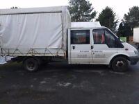 Ford Transit Crew Cab 03 Reg 93,000 Miles £1590 + vat