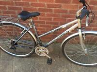 "Ladies 19"" Grand hybrid bike bicycle inc free lights & delivery"