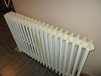 original cast iron radiator 1140mm x 770