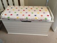Great little trading company toy box + cushion