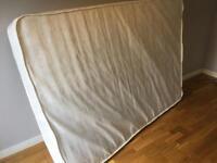 Double mattress in fair condition