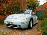 Modified VW Beetle Convertible NEW MOT and Battery