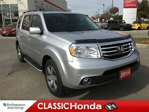 2014 Honda Pilot TOURING | STEP BARS | NAV | LEATHER | REAR DVD