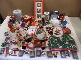 christmas decorations, job lot 4.