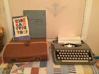 Vintage brother portable typewriter