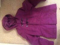 Women's coat excellent condition size 14