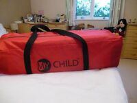 Baby Travel cot and Mattress by My Child