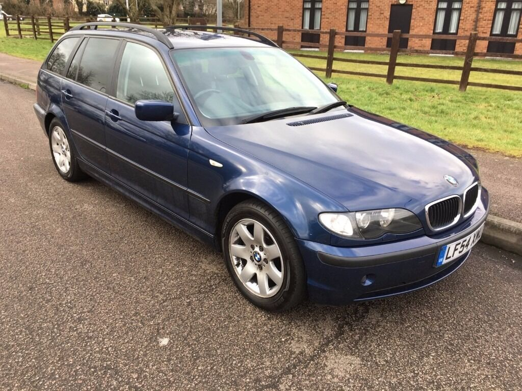 bmw 3 series 320d se touring 2004 estate diesel 2 0 litre blue e46 leather full service history. Black Bedroom Furniture Sets. Home Design Ideas
