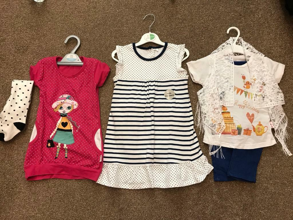 4baca7058 Brand new bundle of baby girl clothes 18-24 months old