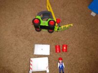 Playmobil Fork Lift Truck - unboxed