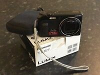 "Panasonic Lumix TZ57 Travel zoom camera with 20x optical zoom lens, tilting 3inch ""Selfie"" screen"
