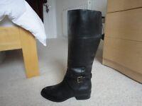 Lauren Ralph Lauren Women's Maryann Wide Calf Riding Boot (unused)