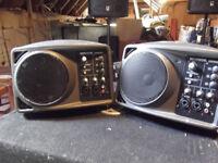 Mackie SRM 150 monitors/ powered spoeakers