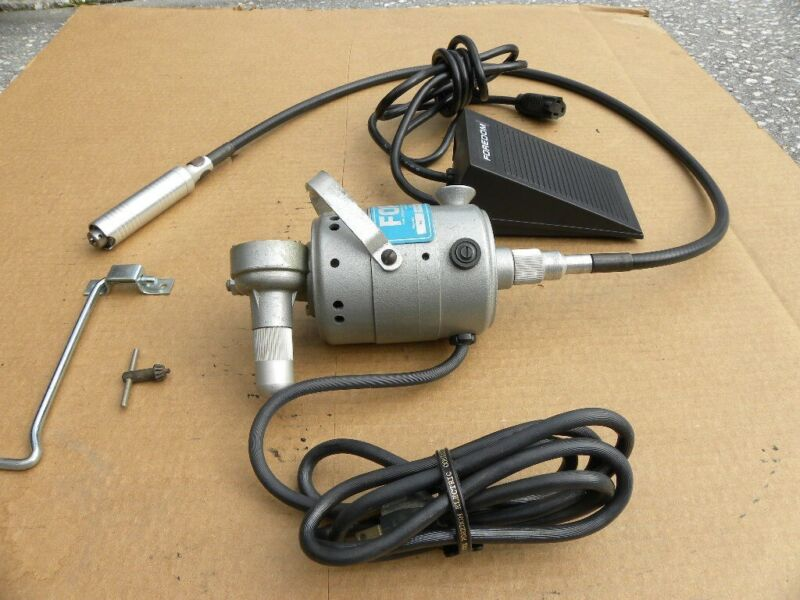 FOREDOM EE HANG UP MOTOR AND FOOT PADAL EXCELLENT CONDITION