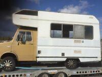 Leyland sherpa camper van