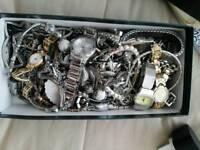 Box full of jewelry