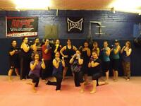 Okuden Martial Arts Women's Kickboxing