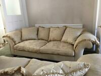 Parker & Farr, Clive Sofas, 3 seaters, 2 matching