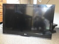 LG 36 inch TV screen