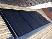Solar PV installer roofer