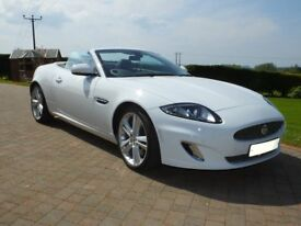 JAGUAR XK PORTFOLIO CONVERTIBLE - 11K miles- reduced