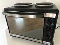 Russel Hobbs Mini Kitchen oven 22780 with fan assist and hotplates