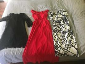 Job lot of 9 lovely dresses