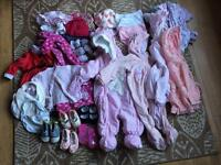 90 item, 6-9 months girls bundle