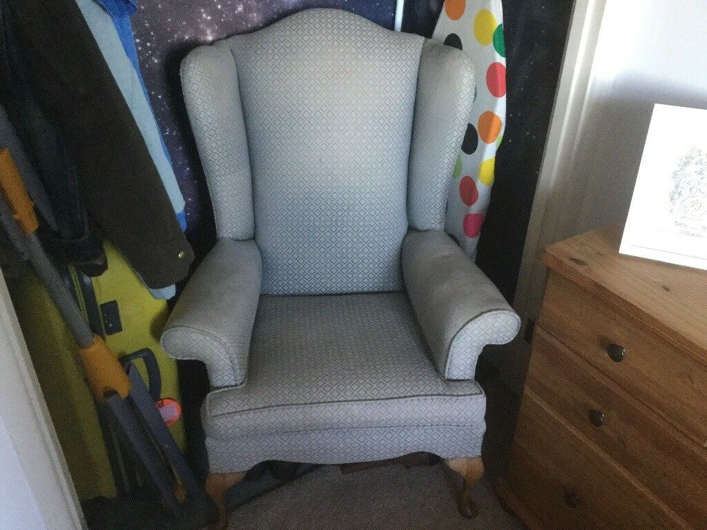 Wingback armchair (Reduced)
