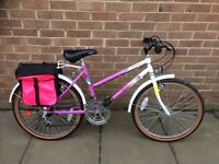 Girls bike for sale very good condition
