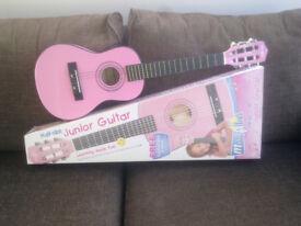 Half Size Junnior Guitar