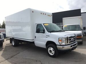 2016 Ford E-450 16 ft cube with ramp